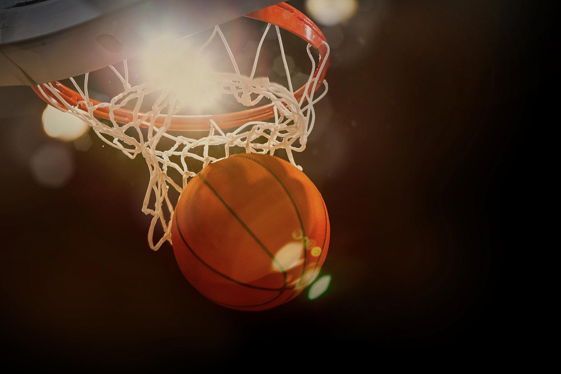 March Madness Basketball Net Swish