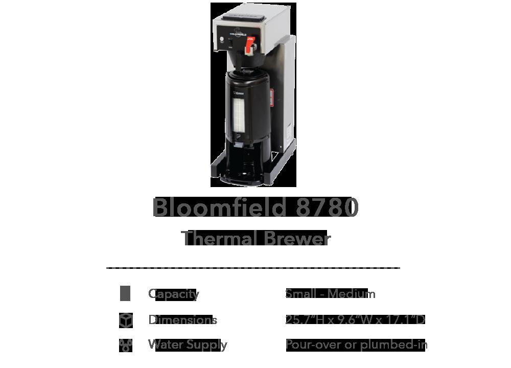Bloomfield 8780