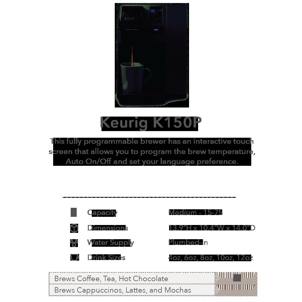 Keurig K150P