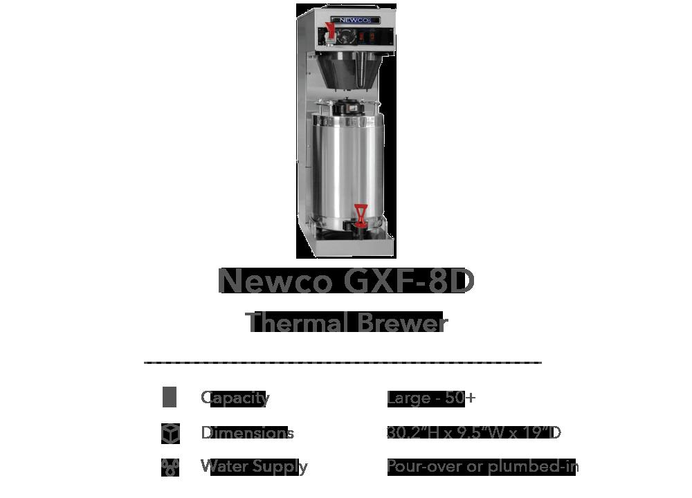 Newco GXF-8D